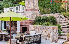 Ý tưởng thiết kế dù che nắng sân vườn đẹp, và độc đáo dành cho dân thiết kế